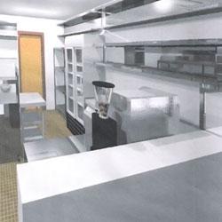 coffee shop kitchen design. The  Barista Coffee Shop Space In DesignSpace Design